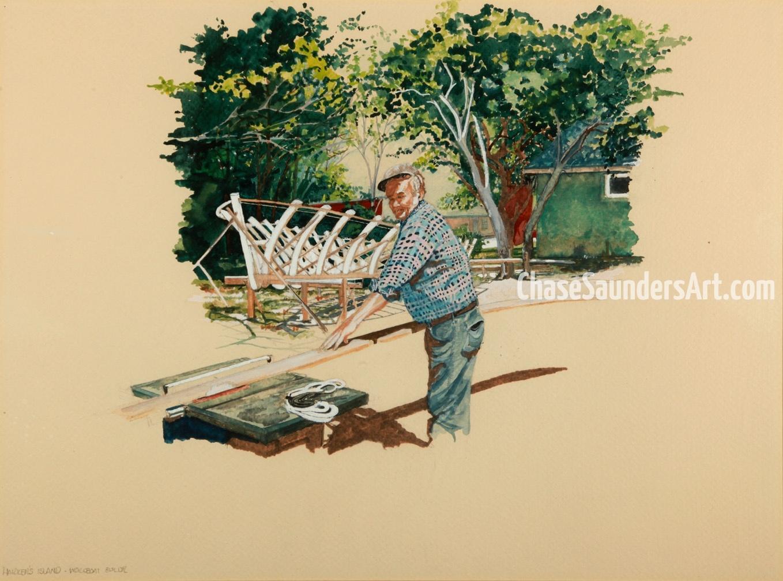 Harkers Island Boat Builder